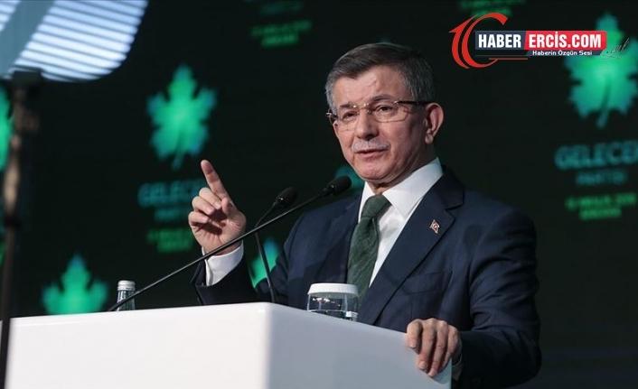 Davutoğlu: Yüzde yüz yerli ve milli bir krizdir