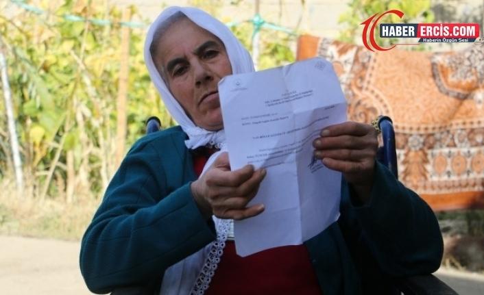 Van'da Parkinson hastası engelli kadının maaşı kesildi