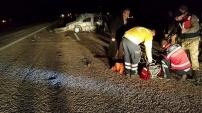 Erciş'te meydana gelen trafik kazasında 5 kişi öldü 6 kişide yara