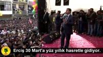 Erciş'te on binlerin katılımıyla Newroz kutlandı
