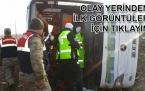 Erciş ten Sivas'a giden yolcu otobüsü şarampole devrildi; 9 ölü , çok sayıda yaralı!